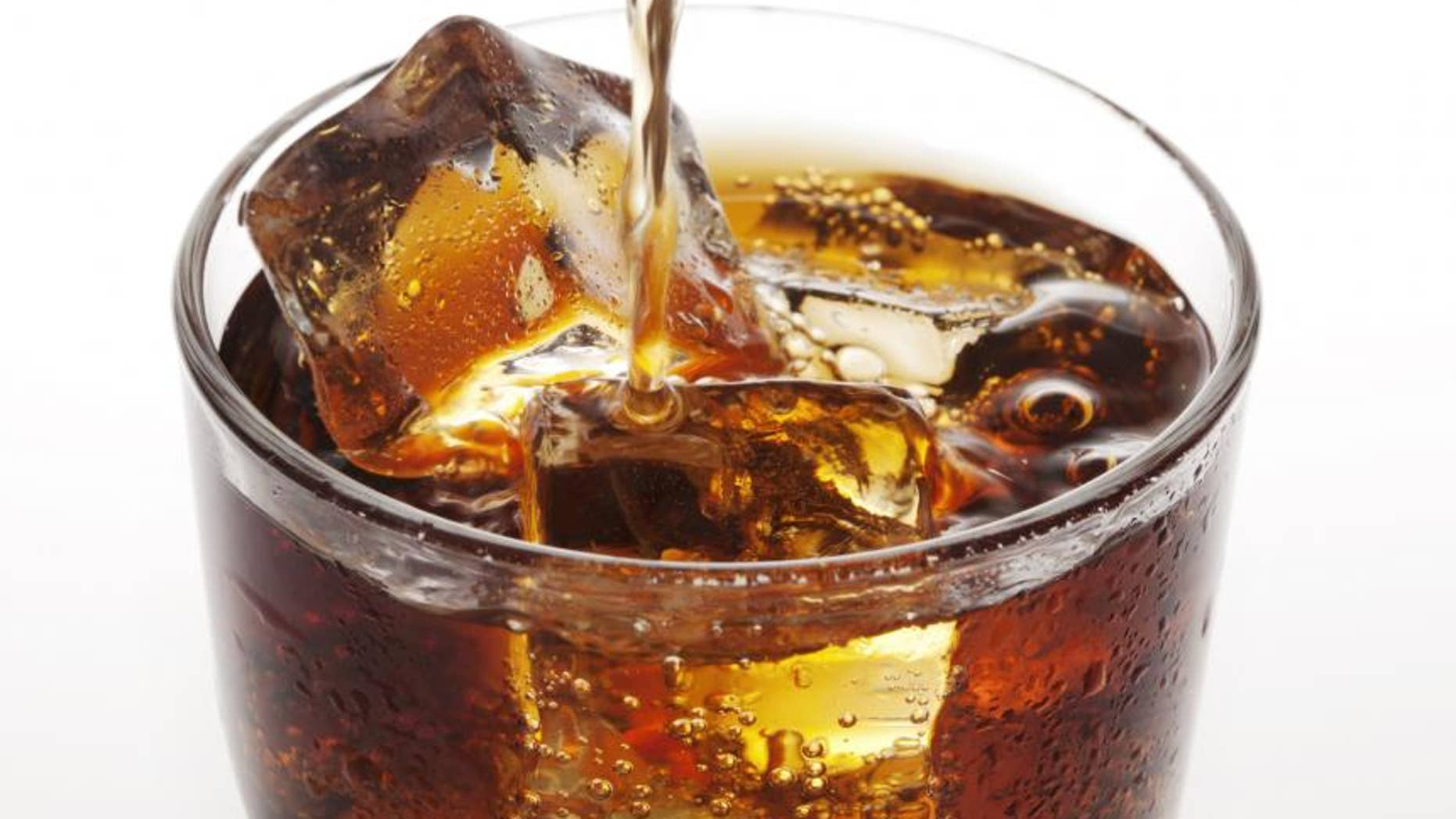 """While more studies are needed to further understand how soda triggers adult acne, Dr. Julia Tzu, clinical assistant professor of dermatology at New York University, believes fizzy cola, in particular, can wreck havoc on your features. """"Cola sodas are basically a bubbly mixture of weak acids and tons of sugar,"""" she explains. """"Not only is it terrible for the skin because of the high fructose corn syrup, it is equally bad for the teeth and bones. That's pretty much the entire body."""" Skip the soda and opt for refreshing, zero-calorie water instead"""