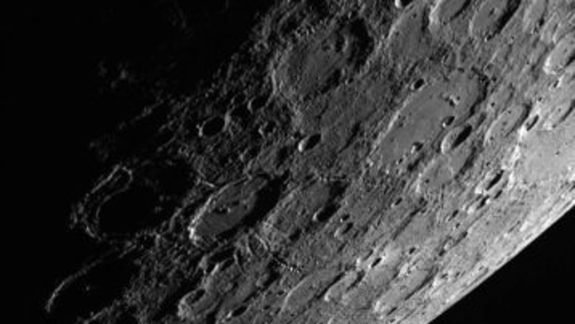 Mercury's horizon.