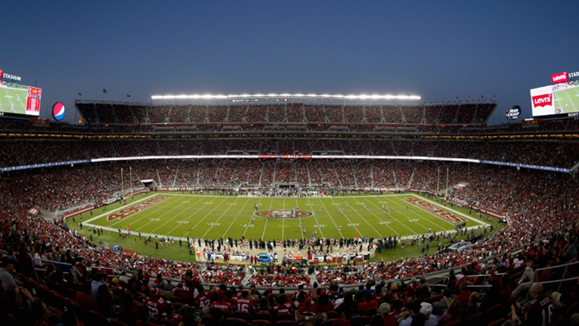 SANTA CLARA, CA - OCTOBER 22:  A general view during the San Francisco 49ers game against the Seattle Seahawks at Levi's Stadium on October 22, 2015 in Santa Clara, California.  (Photo by Ezra Shaw/Getty Images)