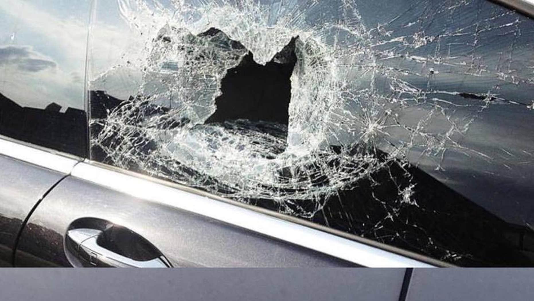 Photos of the damage.