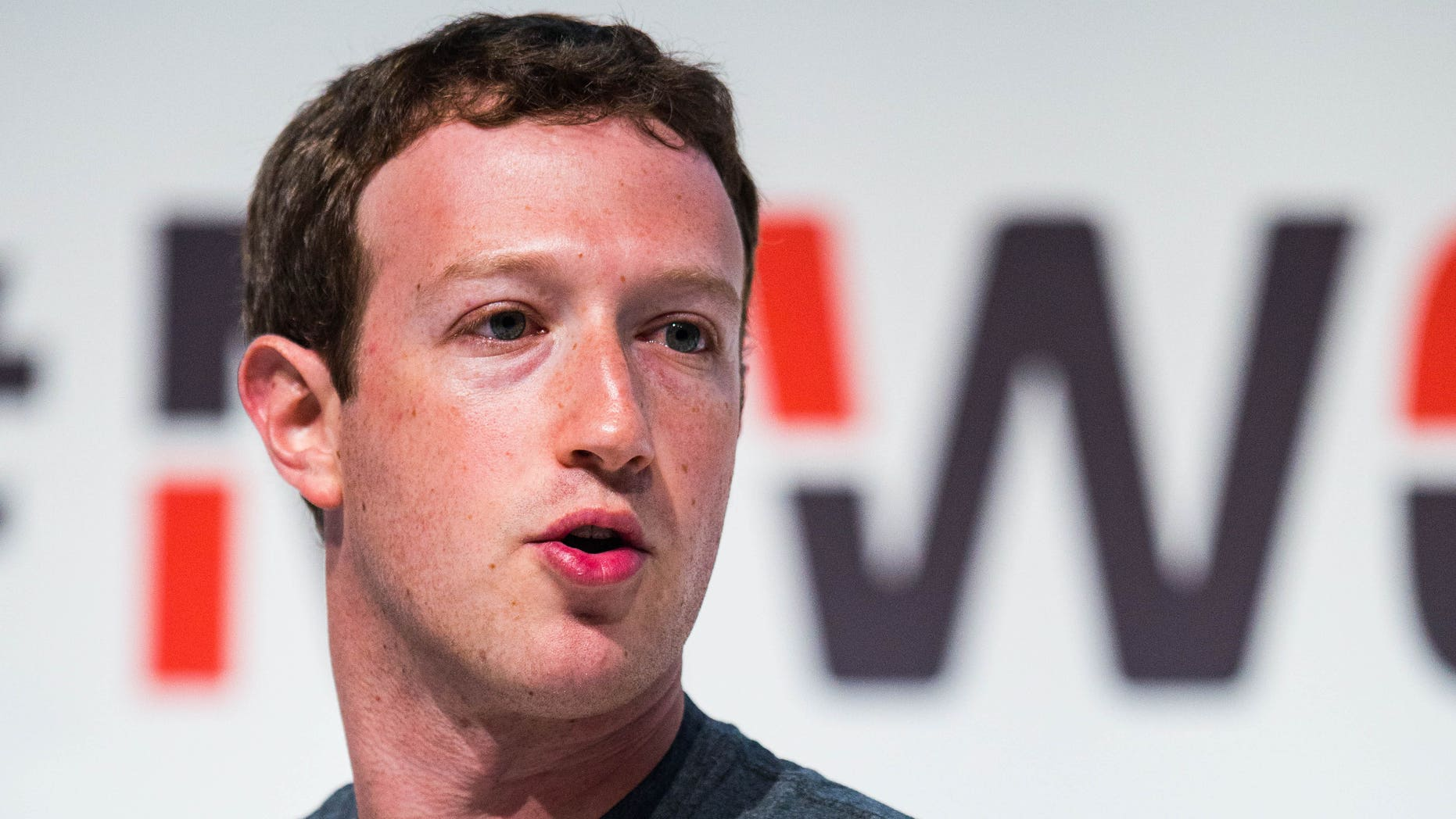 Mark Zuckerberg during the Mobile World Congress 2015 on March 2, 2015 in Barcelona, Spain.