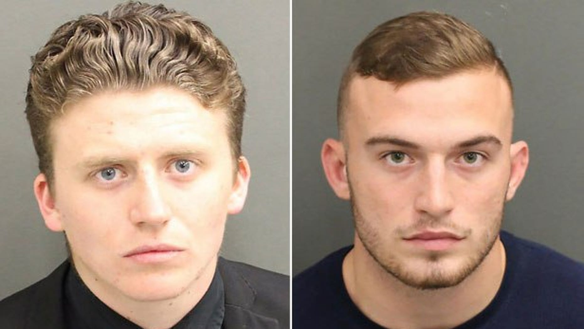 Charges were dropped against Jack Ryan Smith, left, and David Anthony Kirk.