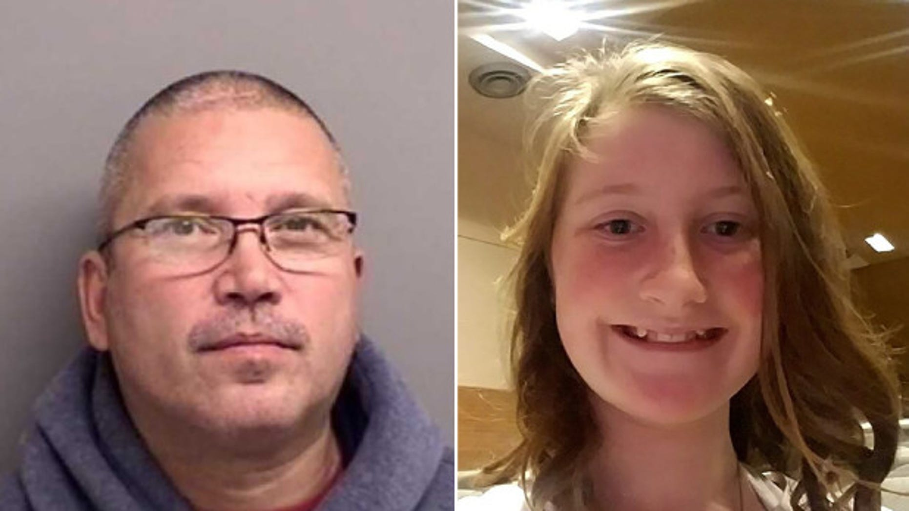 Raeanna Rosencrans, 12, was abducted on her her way home from school and may be with her stepfather, Jody Haskin, police in Colorado say.