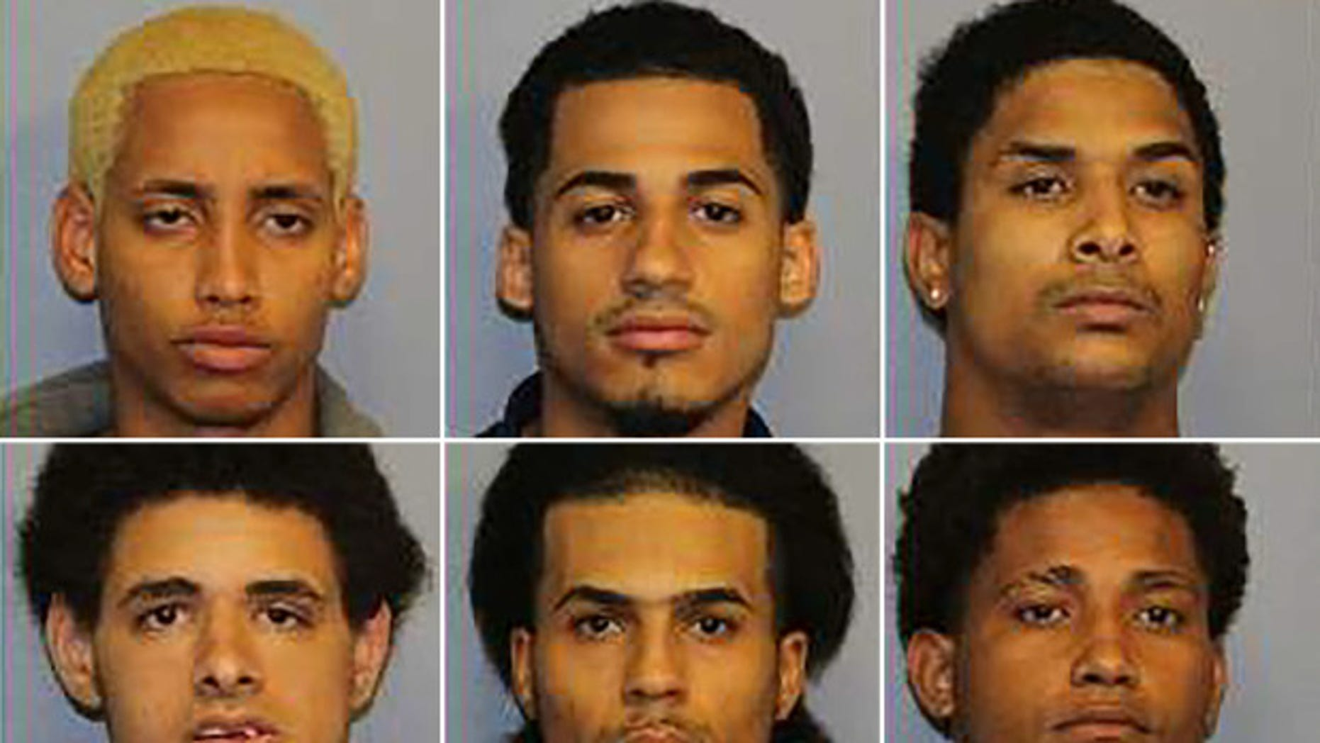 Danel Fernandez, top center, Jose Muniz, bottom left, and Santiago Rodriguez, bottom right, were among 8 suspects charged with the murder of an innocent 15-year-old from the Bronx last month.