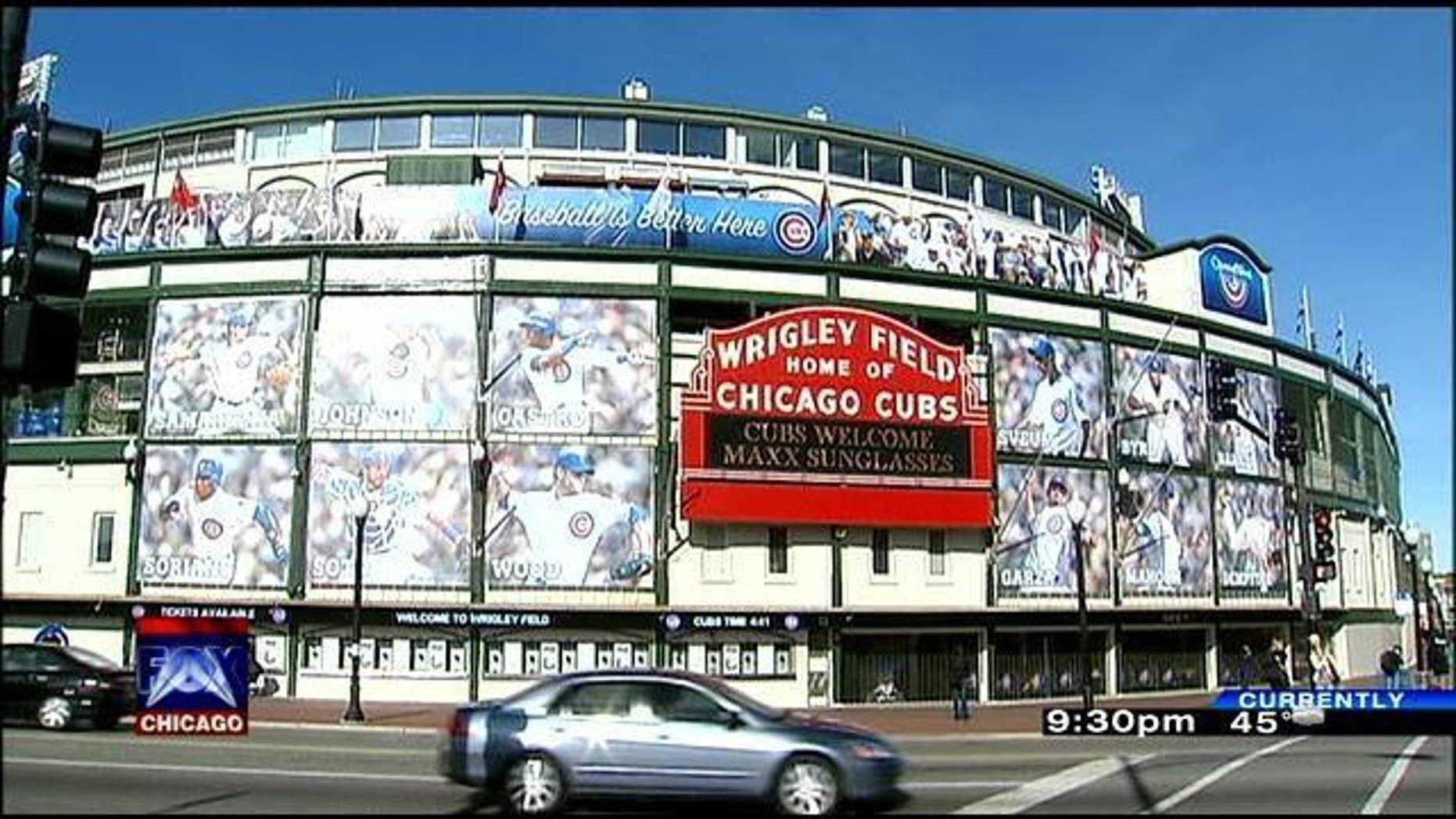 Wrigley Field, Chicago. (MYFOXCHICAGO.com)