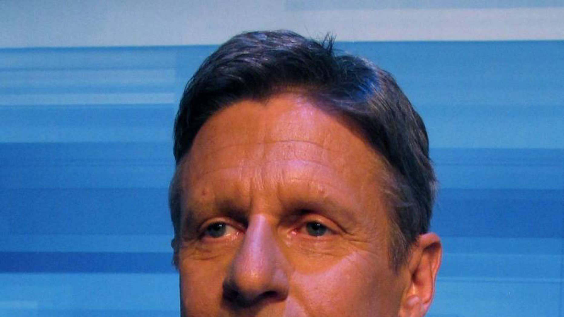 Former New Mexico Gov. Gary Johnson at the May 5, 2011 Republican Presidential Debate in South Carolina (FOX News Photo)