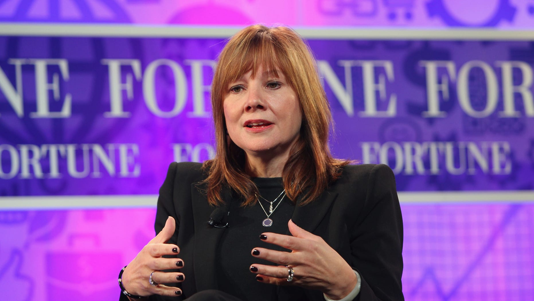 Mary Barra at the FORTUNE Most Powerful Women Summit on October 16, 2013 in Washington, DC.