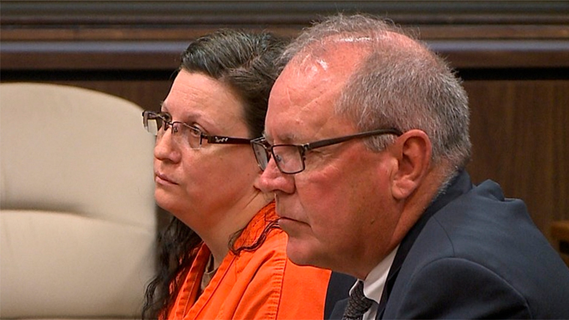 Shanna Golyar appears in court as a judge sentences her to life in prison.