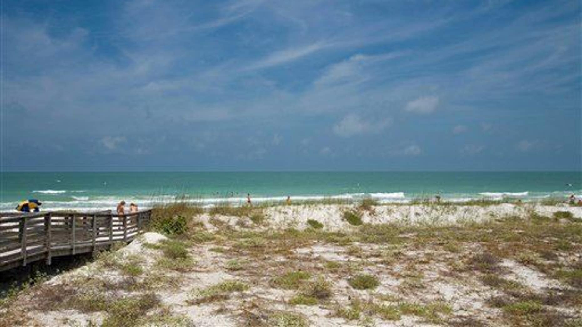 The Gulf of Mexico is shown in this photo.