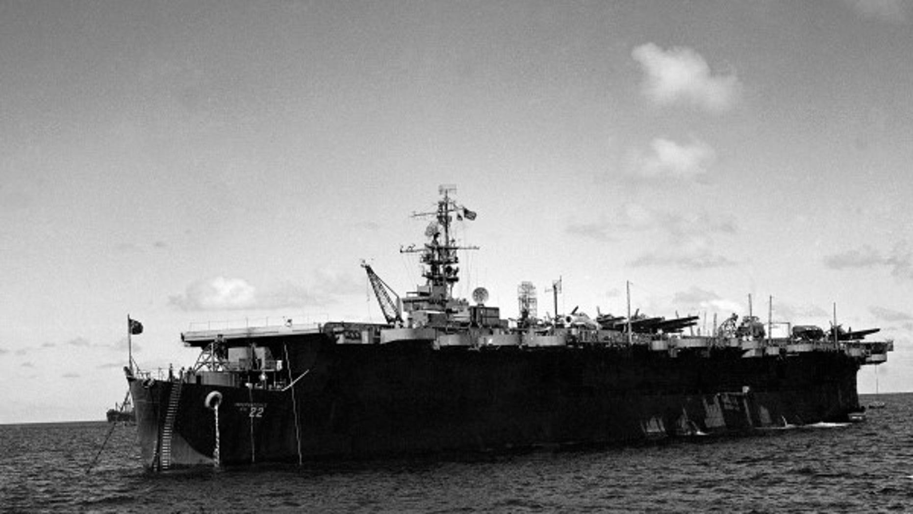 Sunken Aircarft Carrier
