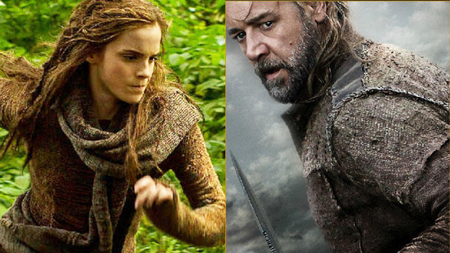 "Promo images from ""Noah."""
