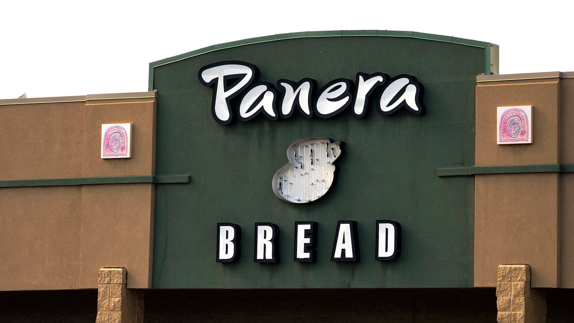 The sign on the hood of a delivery truck for Panera Bread Co. is seen in Westminster, Colorado February 11, 2015. Panera Bread Co was to issue its Q4 2014 Earnings Release on Wednesday.  REUTERS/Rick Wilking (UNITED STATES - Tags: BUSINESS FOOD) - RTR4P7MM