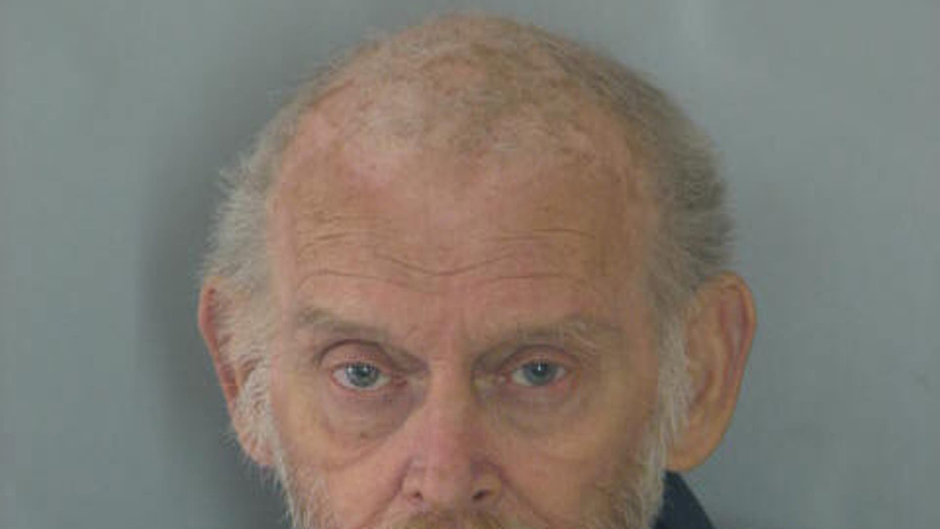 FILE - This undated photo provided by the Georgetown Police Department shows James L. Clay, 67. Clay charged last month in a 1967 Arkansas killing is fighting extradition.  At a hearing Tuesday, April 14, 2015 in Georgetown, Del., Clay's attorney questioned a filing by Arkansas authorities, arguing that it was not notarized. Clay is charged in the 1967 shooting death of James Ricks of North Little Rock. (Georgetown Police Department via AP)