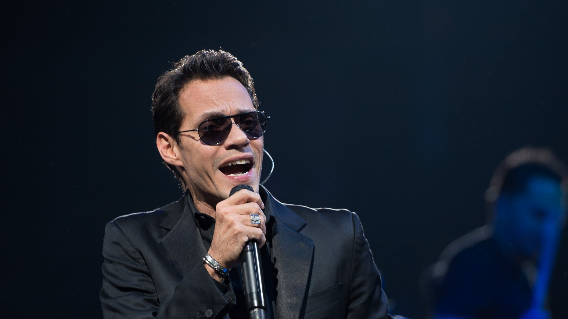 Marc Anthony on February 15, 2014 in the Brooklyn borough of New York City.