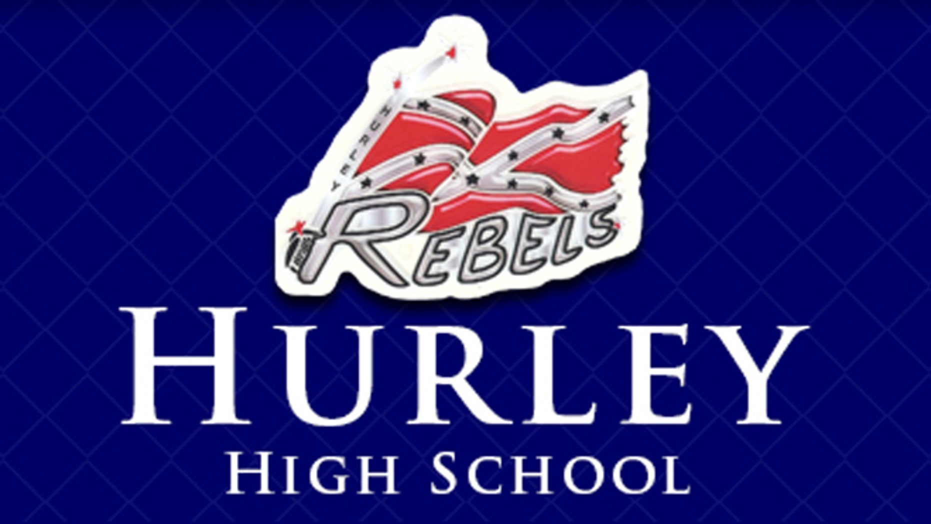 Hurley High School uses the Confederate battle flag to represent its athletic squads, The Rebels.