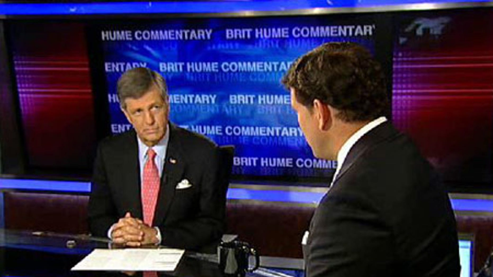 FOX News' Brit Hume with 'Special Report' host Bret Baier