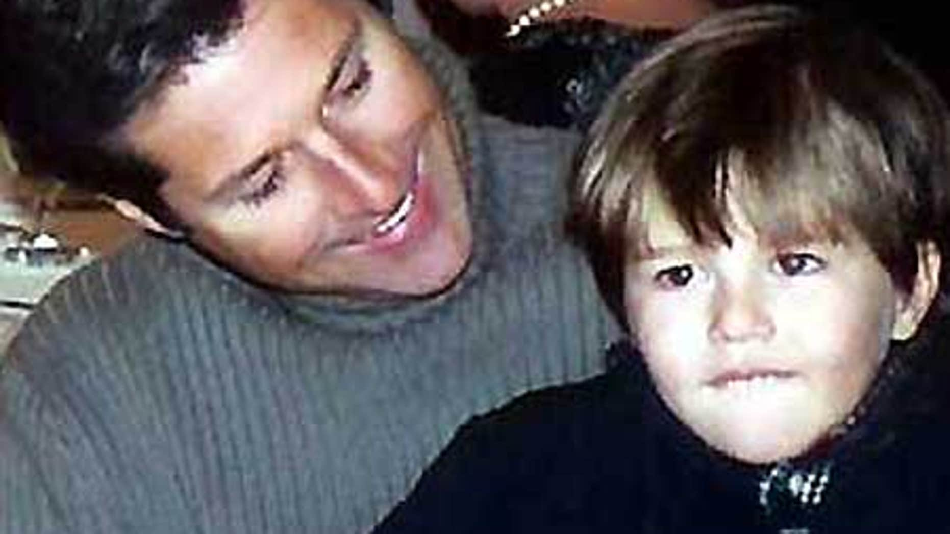 David Goldman, shown here with his son Sean, is still trying to bring him back from Brazil to New Jersey.