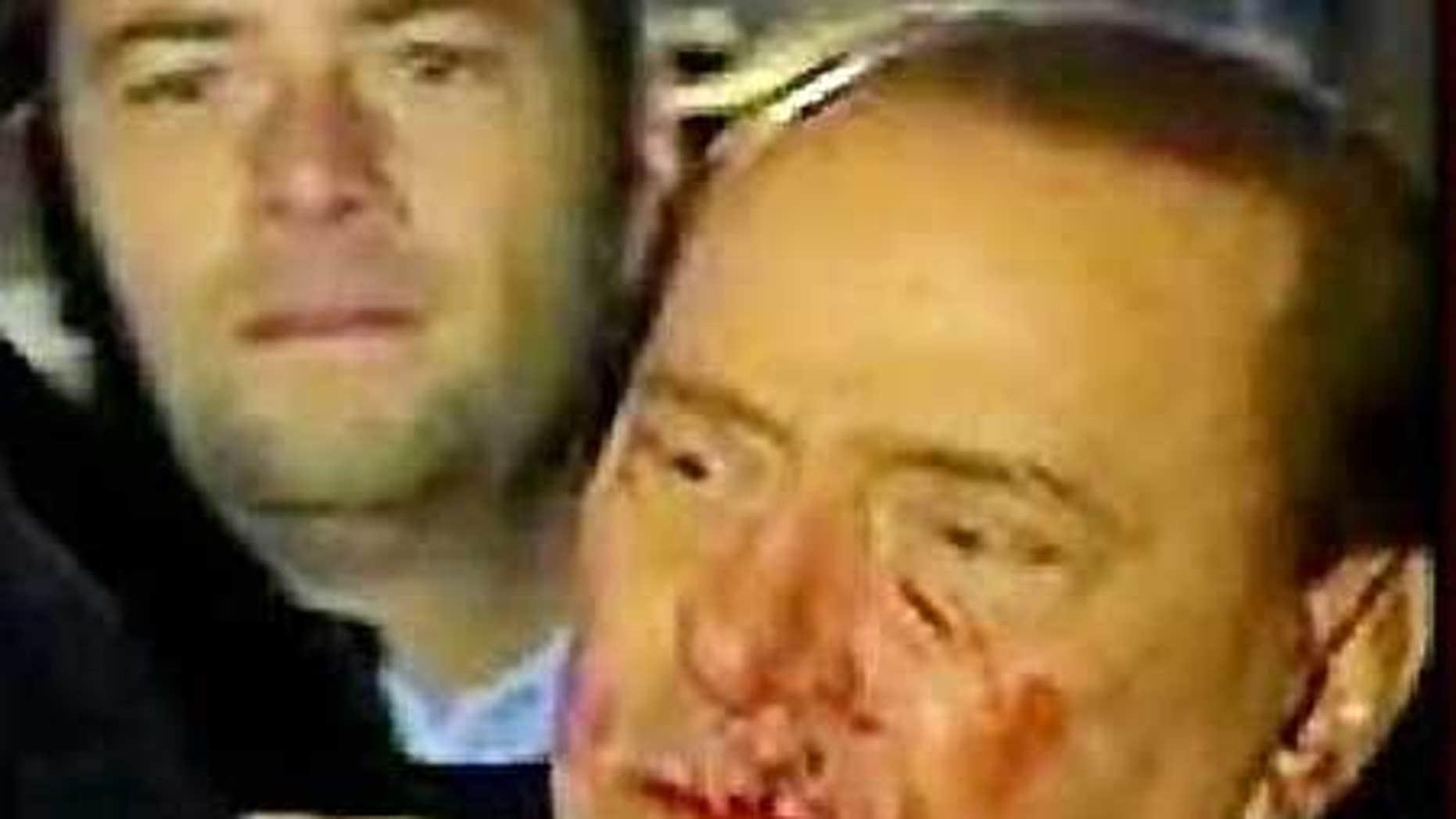 Dec. 13: Italian Premier Silvio Berlusconi in Milan.