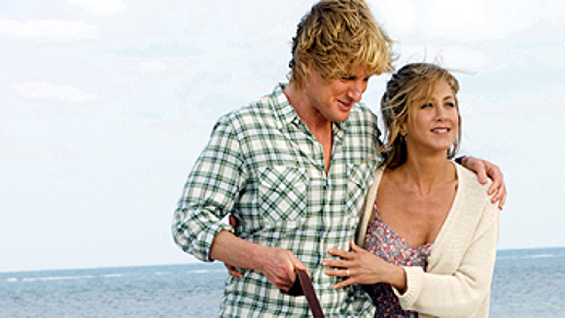 "Owen Wilson and Jennifer Aniston in a scene from, ""Marley and Me."""