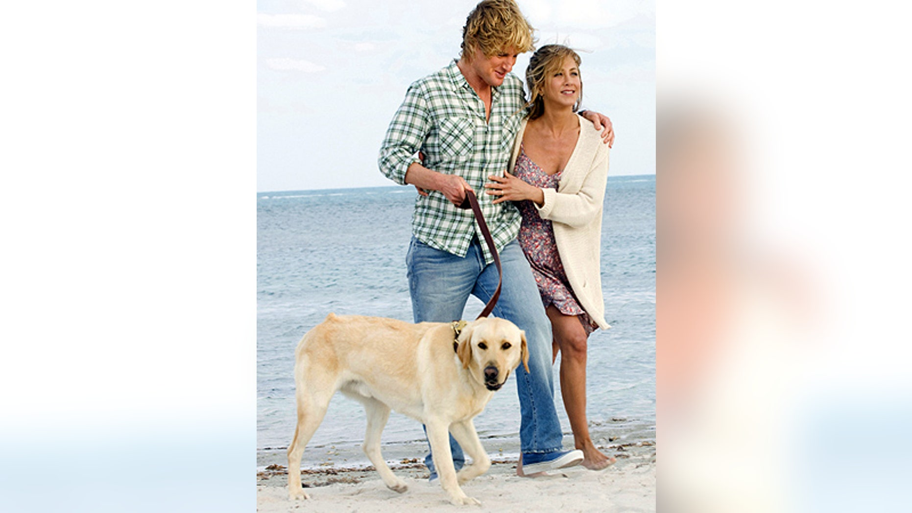 """Owen Wilson and Jennifer Aniston in a scene from, """"Marley and Me."""""""