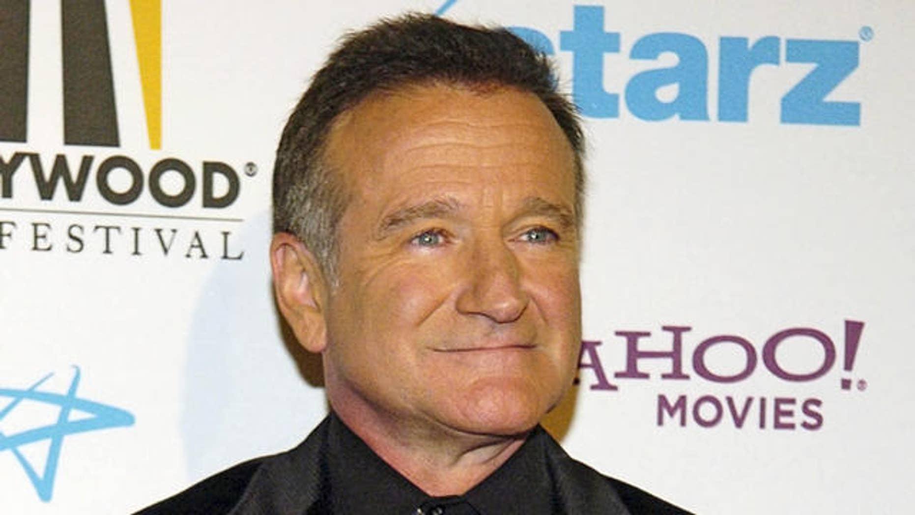Comedian Robin Williams (AP)