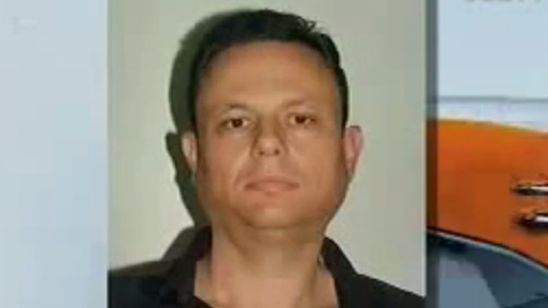 A screen grab of Mexican drug trafficker Rafael Humberto Celaya Valenzuela.