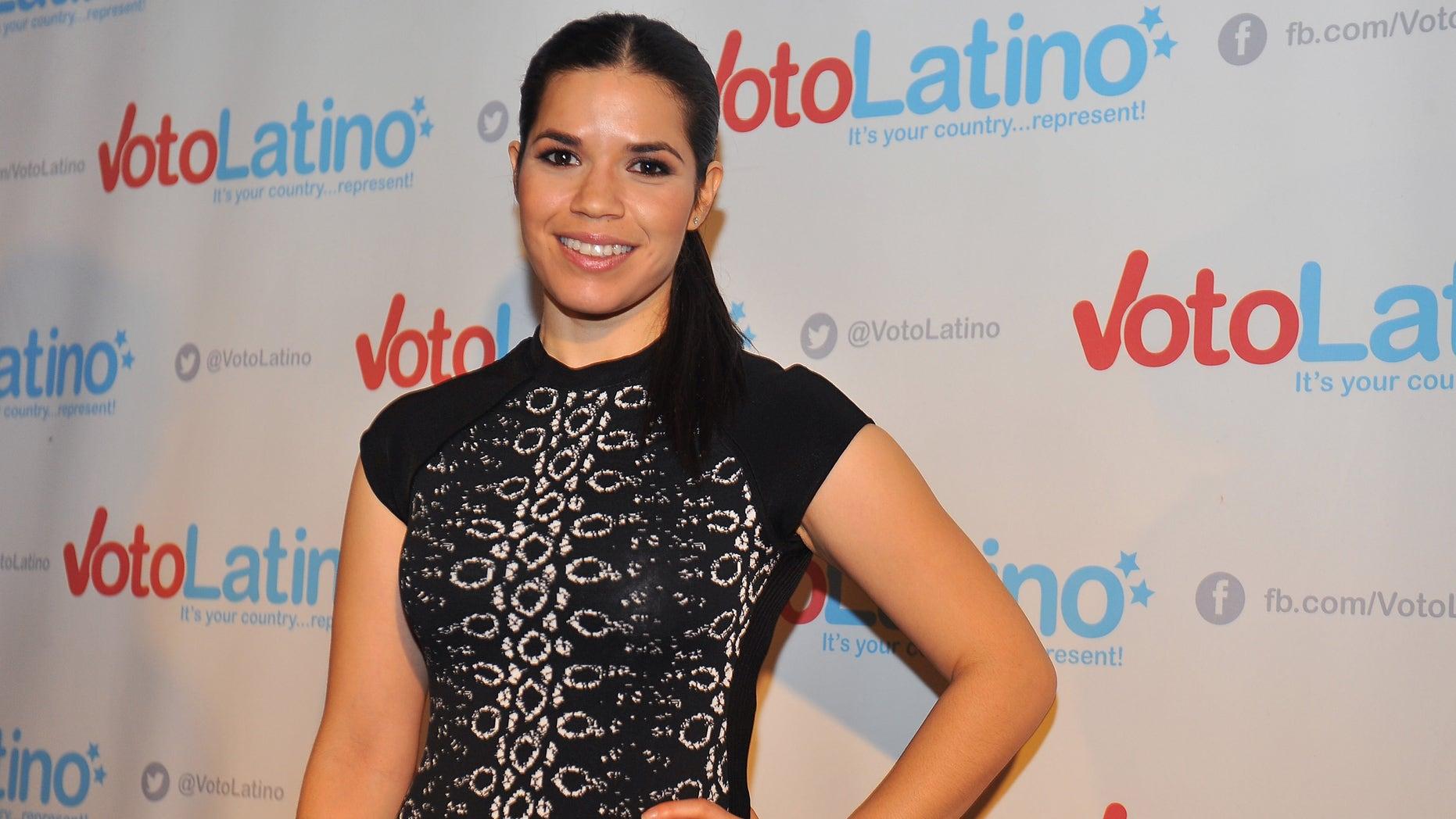 America Ferrera attends Voto Latino's 10th Anniversary on March 4, 2015 in Washington, DC.