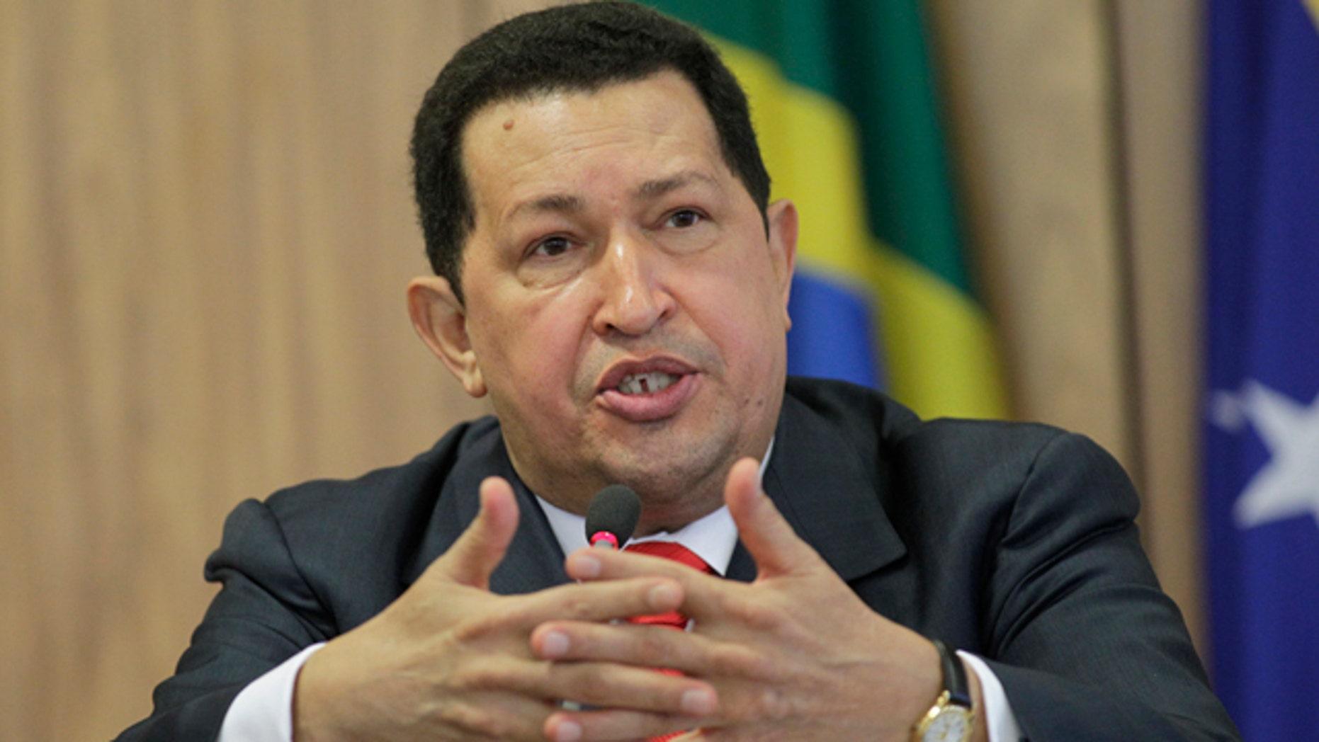 Hugo Chavez (Reuters)