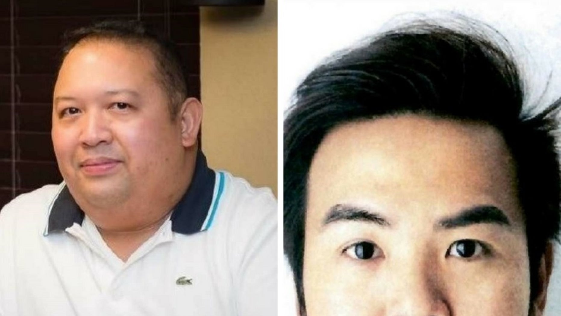 Glenser Soliman, 44, left, and An Vinh Nguyen, 26, are believed to have been murdered.