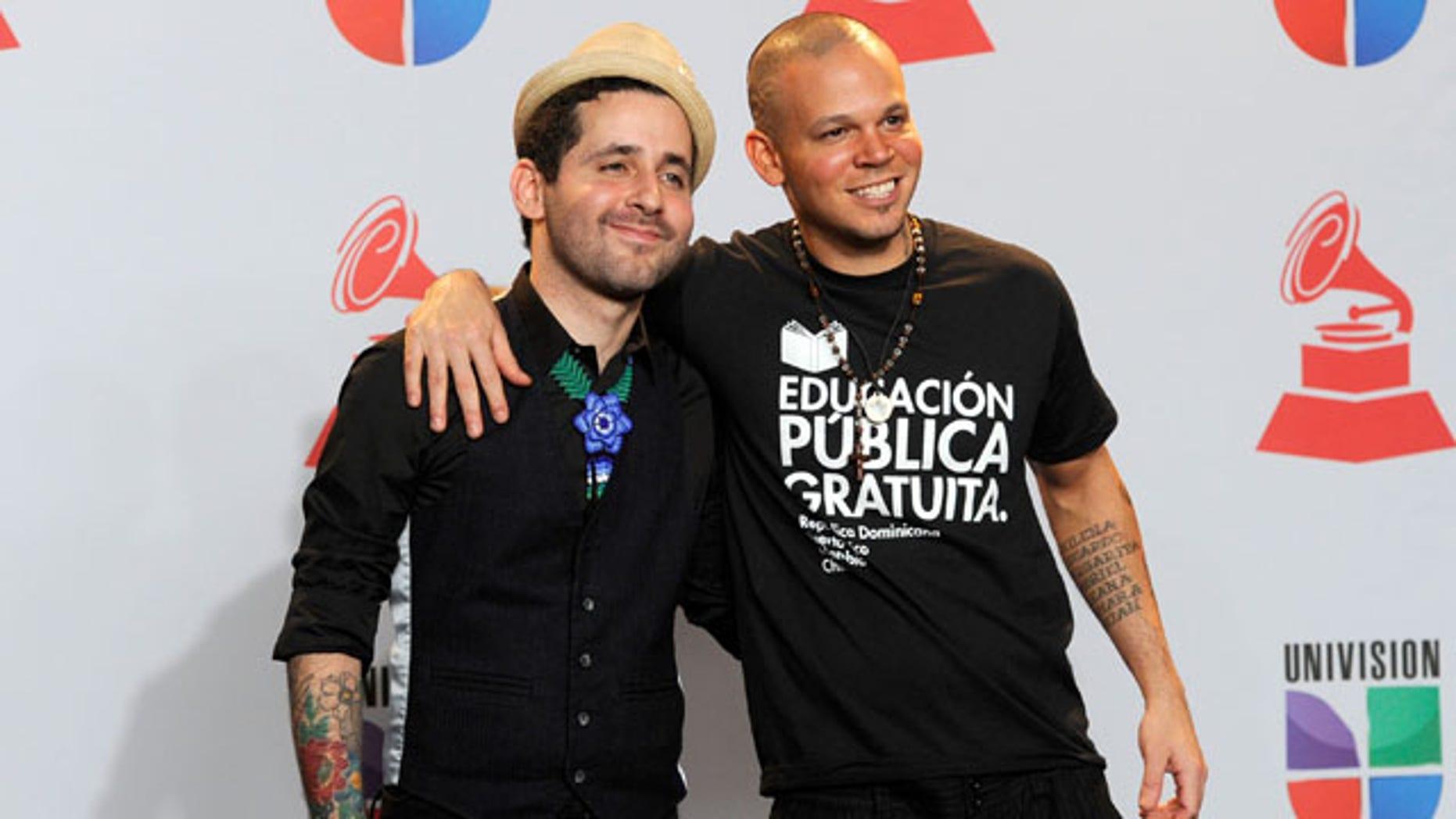 Rene Perez, right