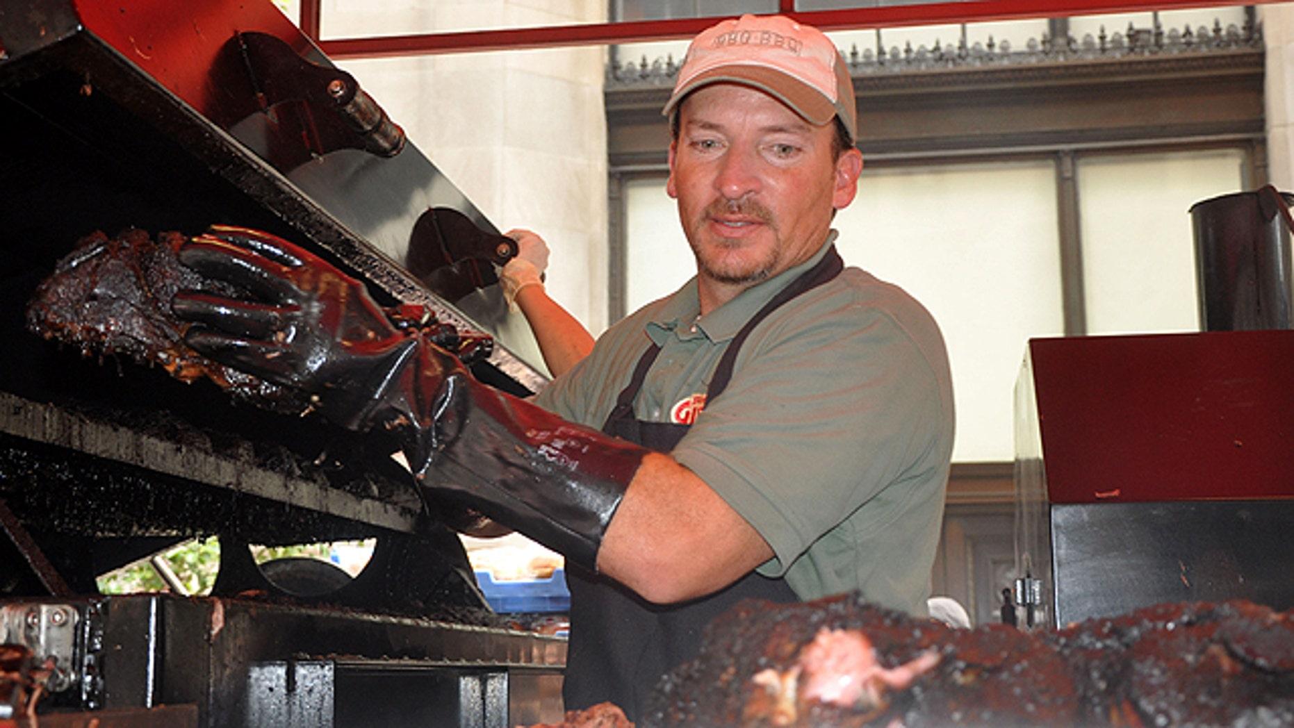 Pitmaster Chris Lilly of Big Bob Gibson Bar-B-Q