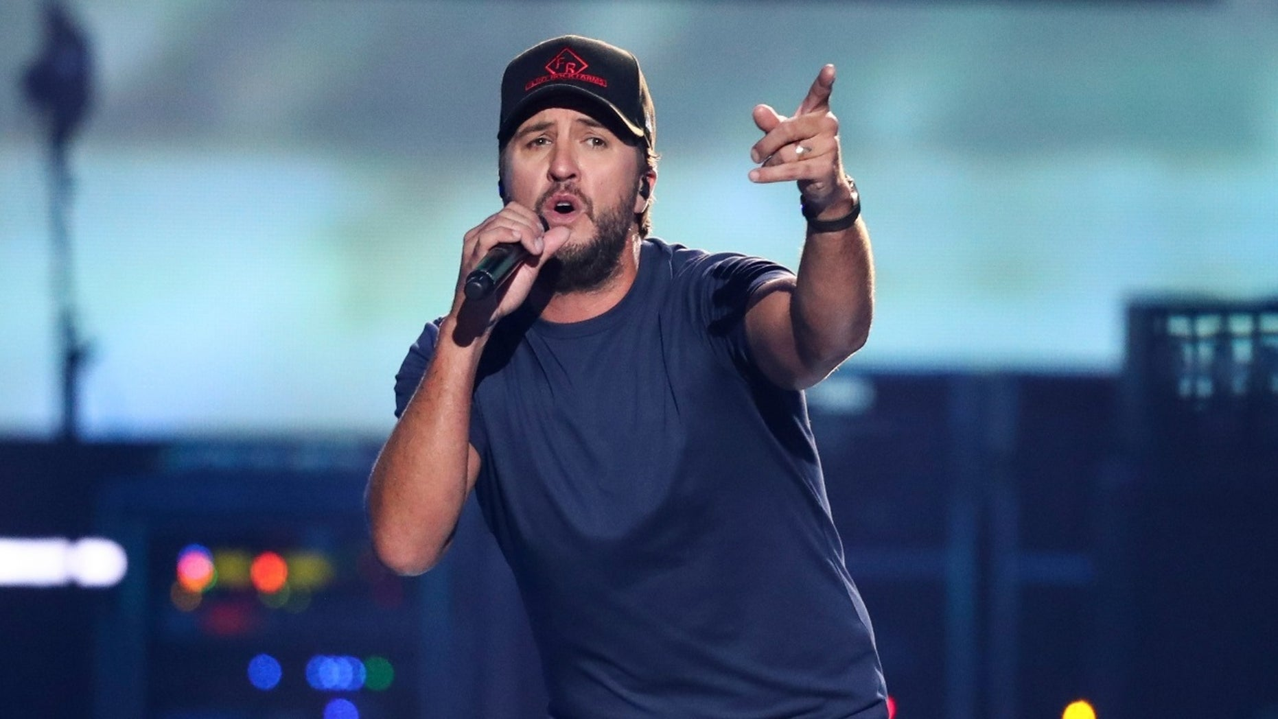 Luke Bryan said he is proud of his sons and nephew's good manners.
