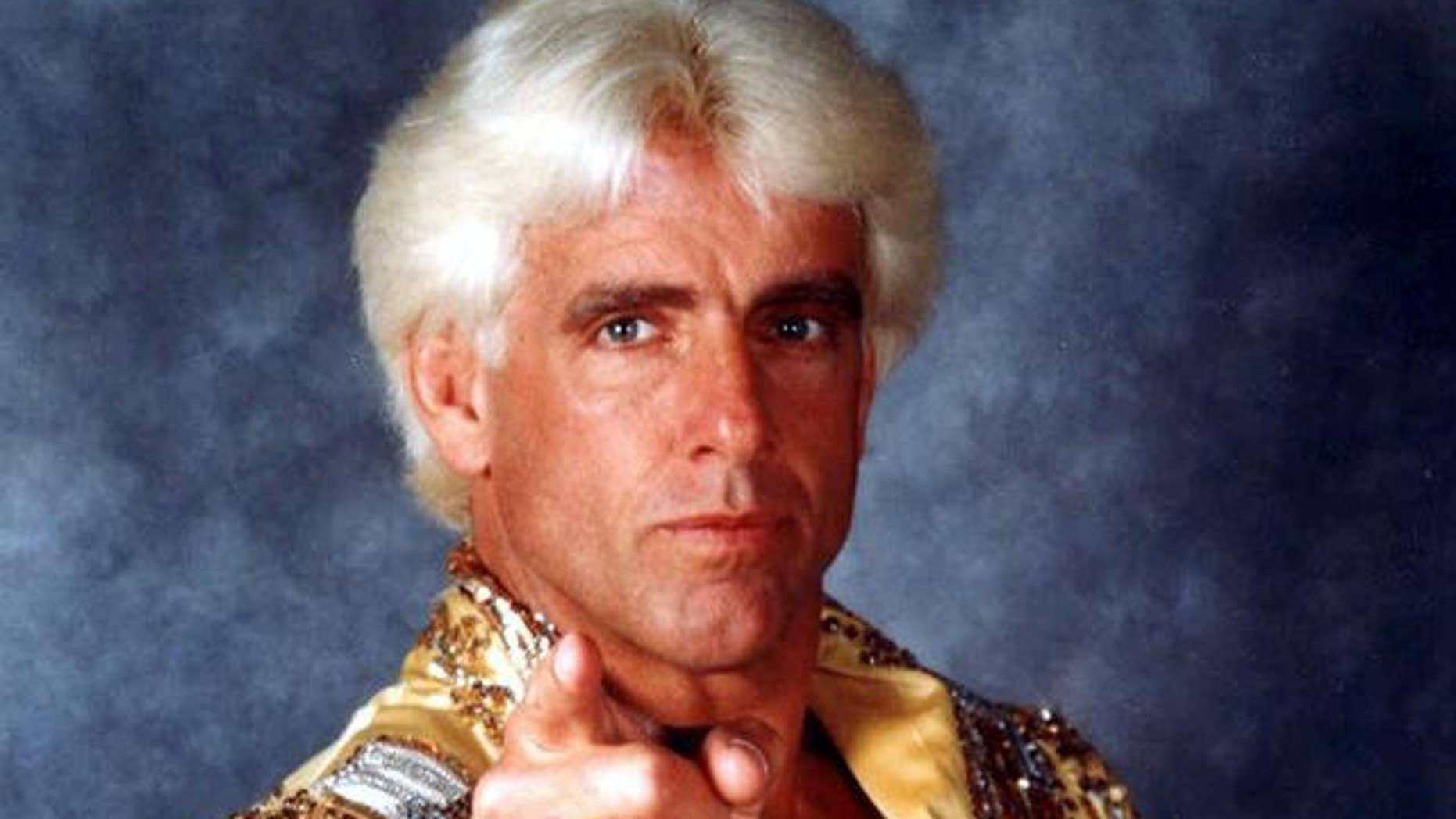 """Ric """"Nature Boy'' Flair is seen in this wrestling headshot photo."""