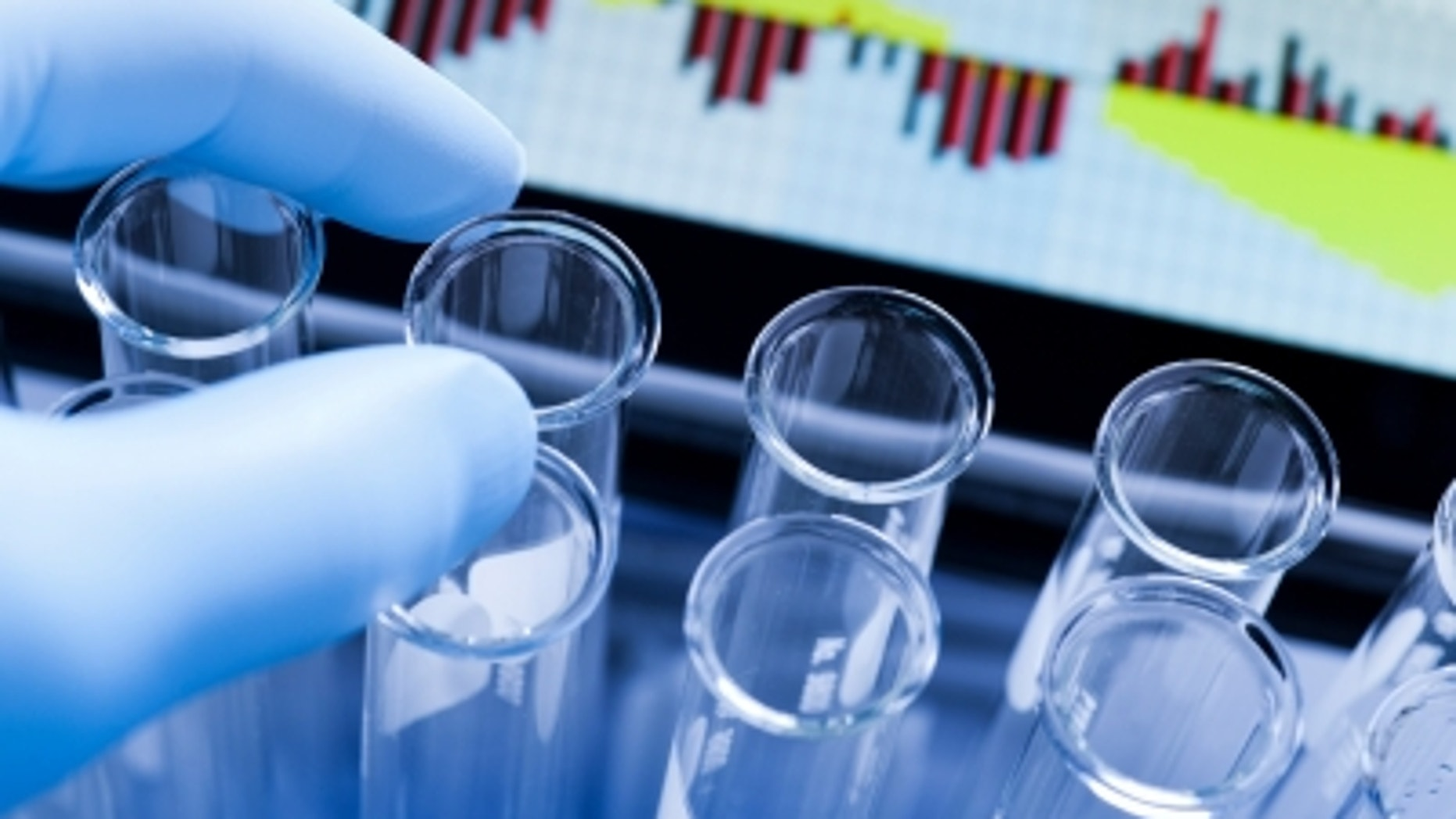 Science and medical research sample analysis