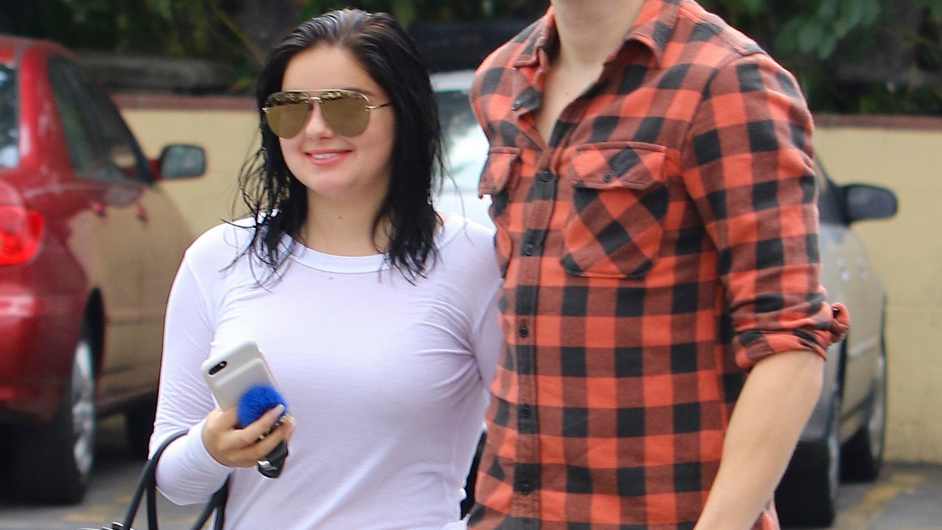 """Ariel Winter's lattest flame is 11 years older than the """"Modern Family"""" star. Winter, 18, is dating fellow actor Levi Meaden, 29."""