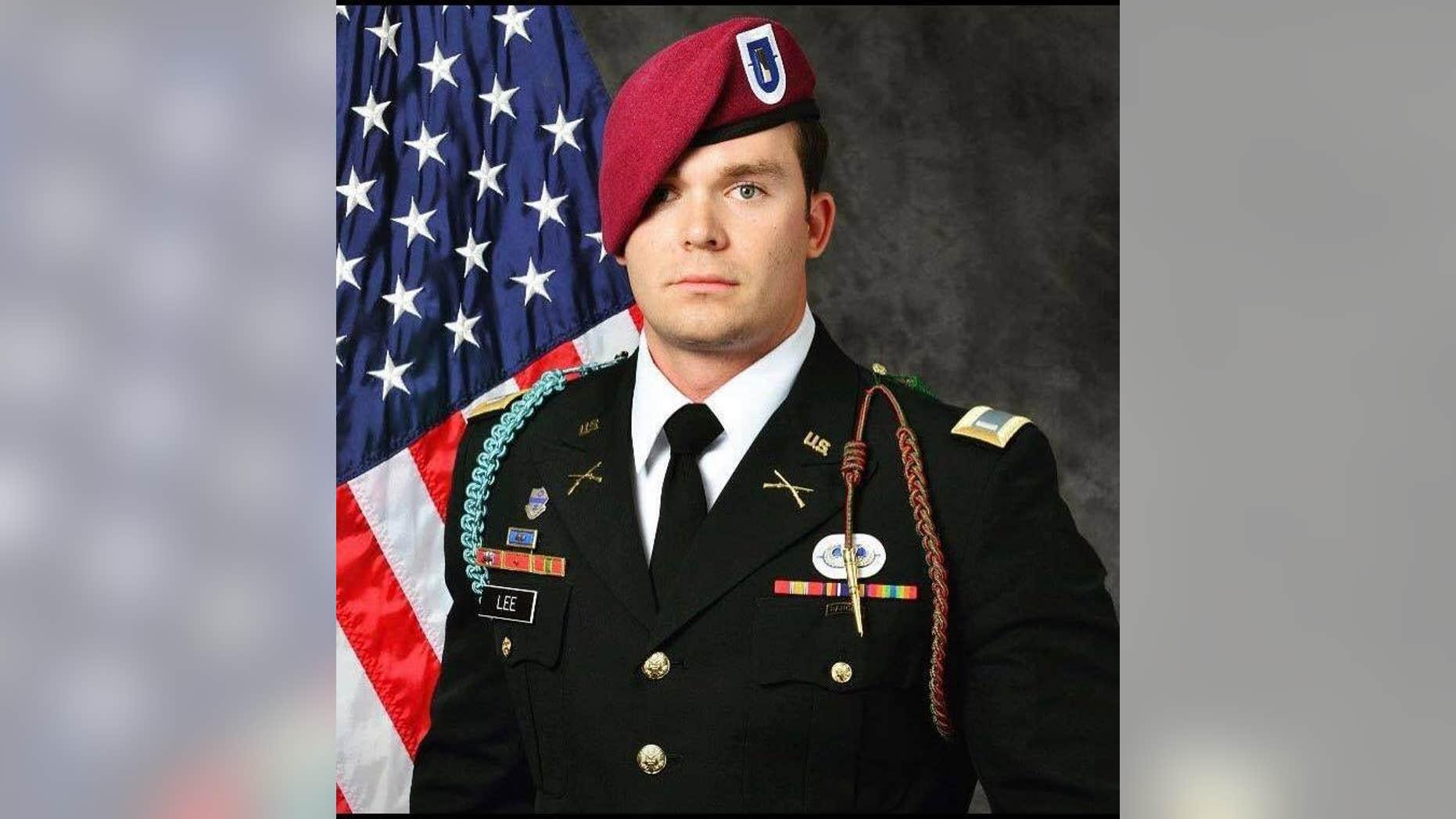 U.S. Army paratrooper Weston C. Lee was killed in Iraq on April 29.
