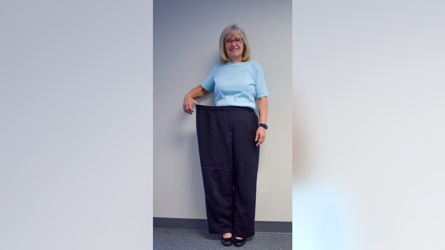 Terry Reuer, a 67-year-old Michigan woman, lost nearly 80 pounds and competed in a Tough Mudder race in June.