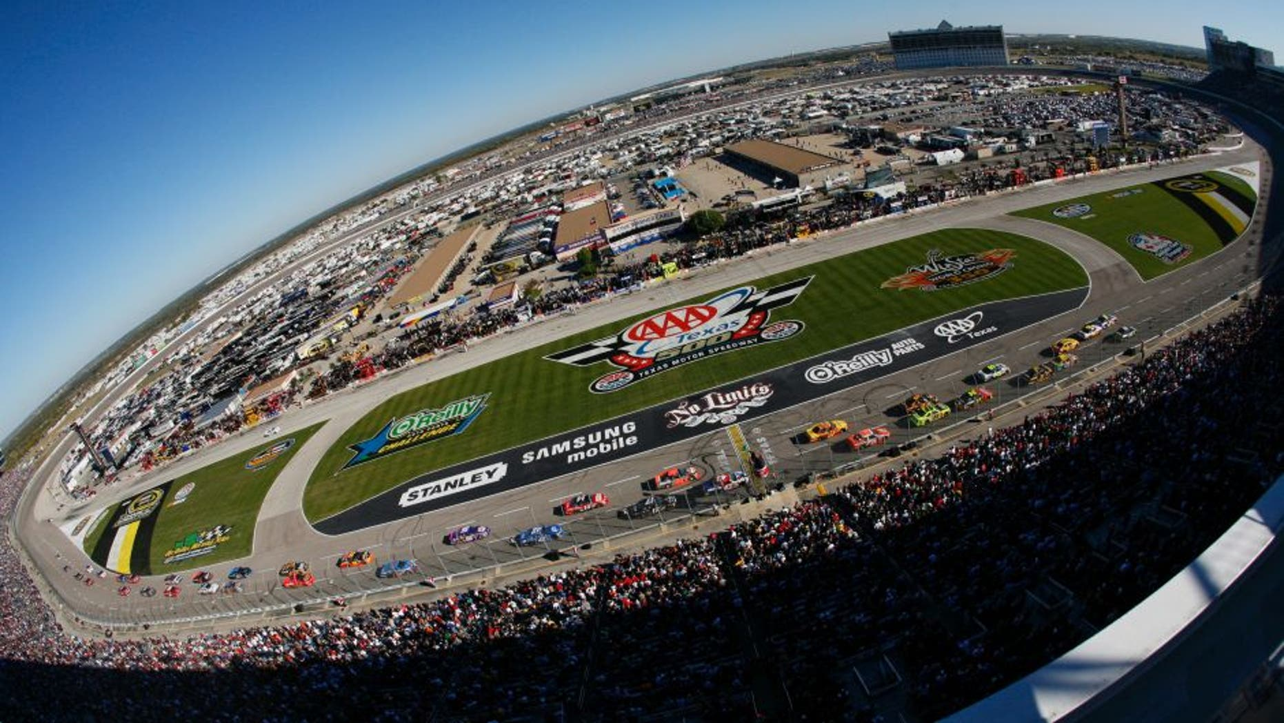 texas motor speedway track renovation entering final stages | fox news