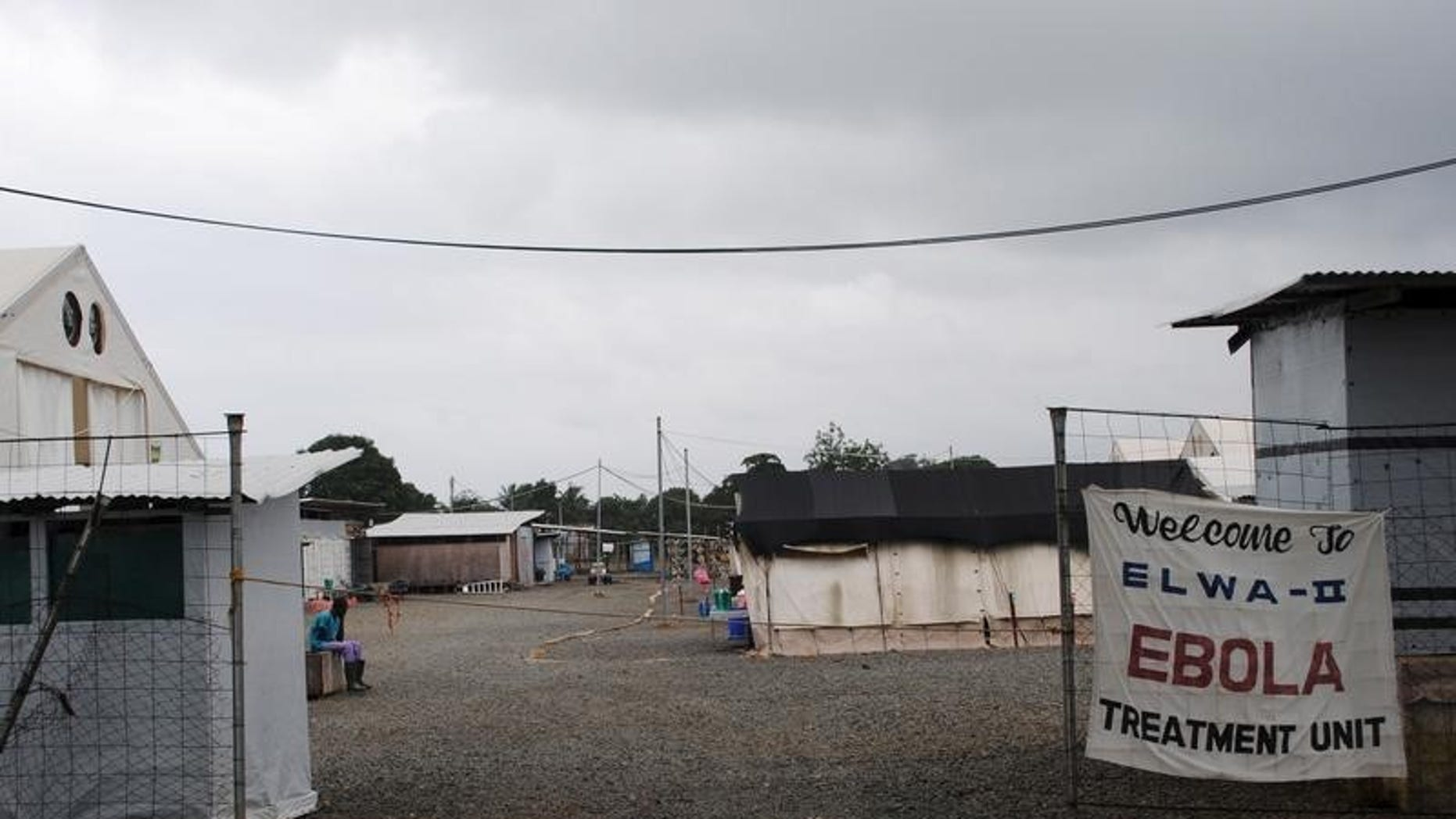 The Ebola virus treatment center where four people are currently being treated is seen in Paynesville, Liberia, July 16, 2015. REUTERS/James Giahyue