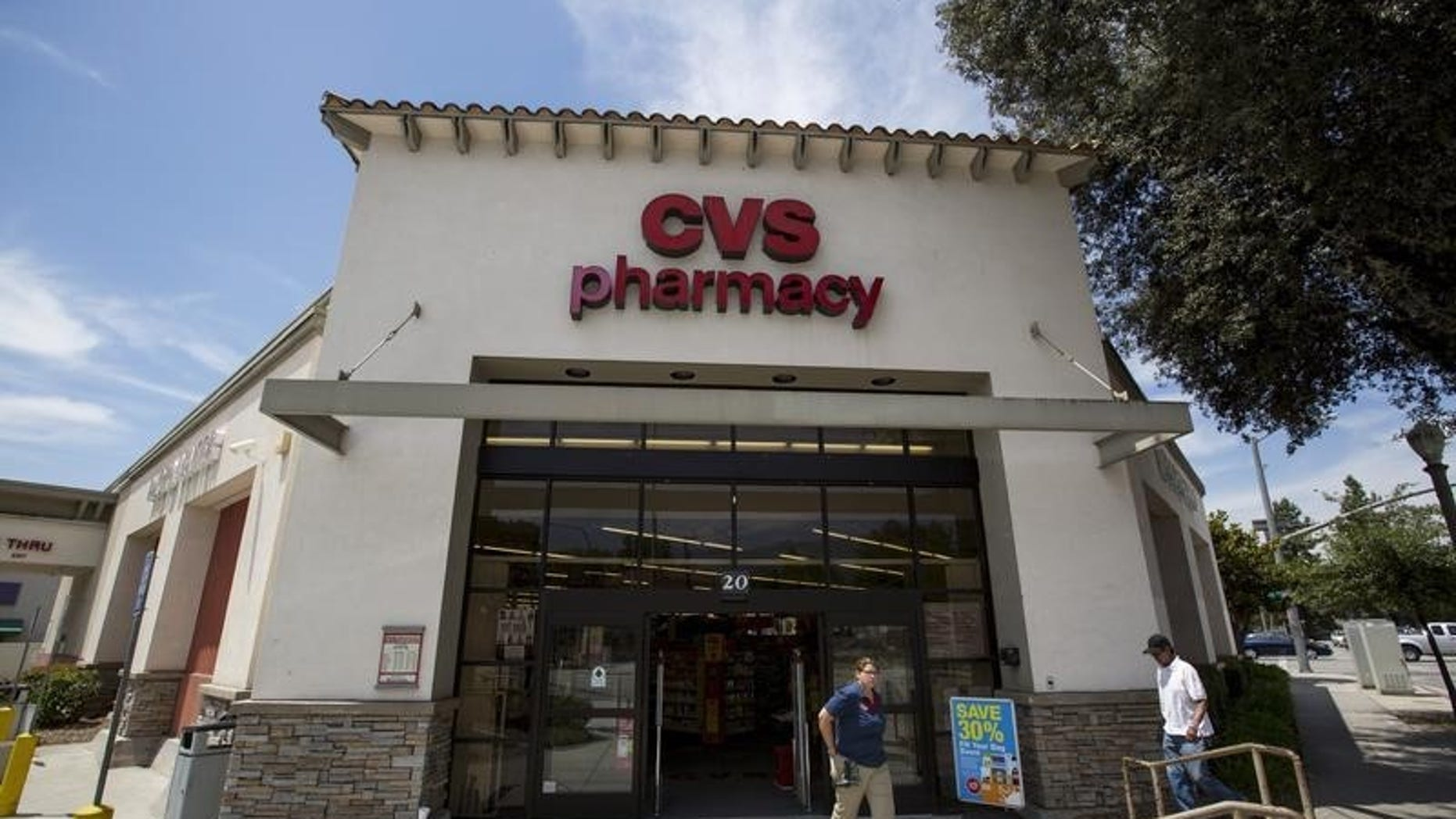 A CVS in Temple City was among the stores hit.