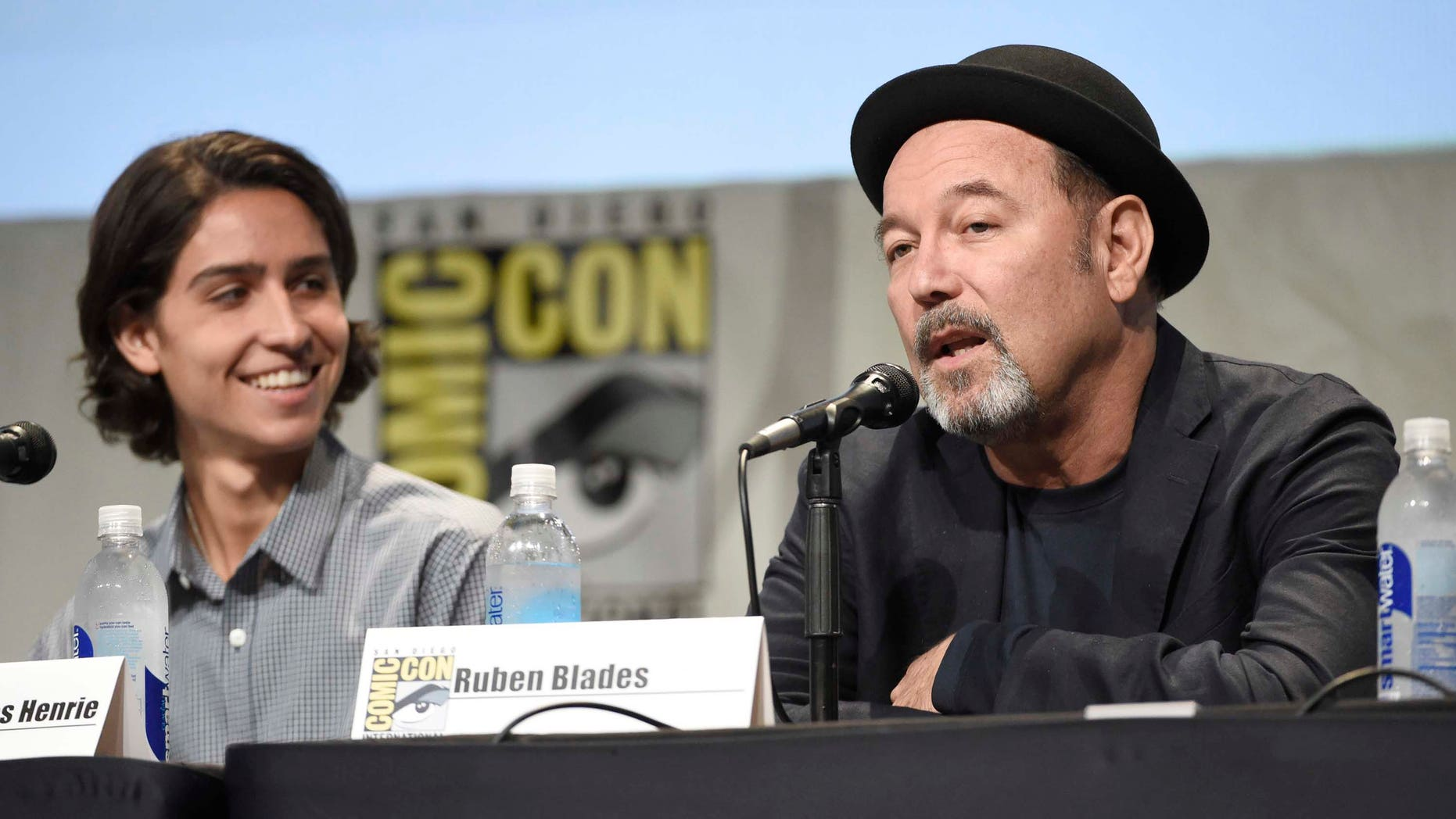 Ruben Blades on day 2 of Comic-Con International on Friday, July 10, 2015, in San Diego, Calif.