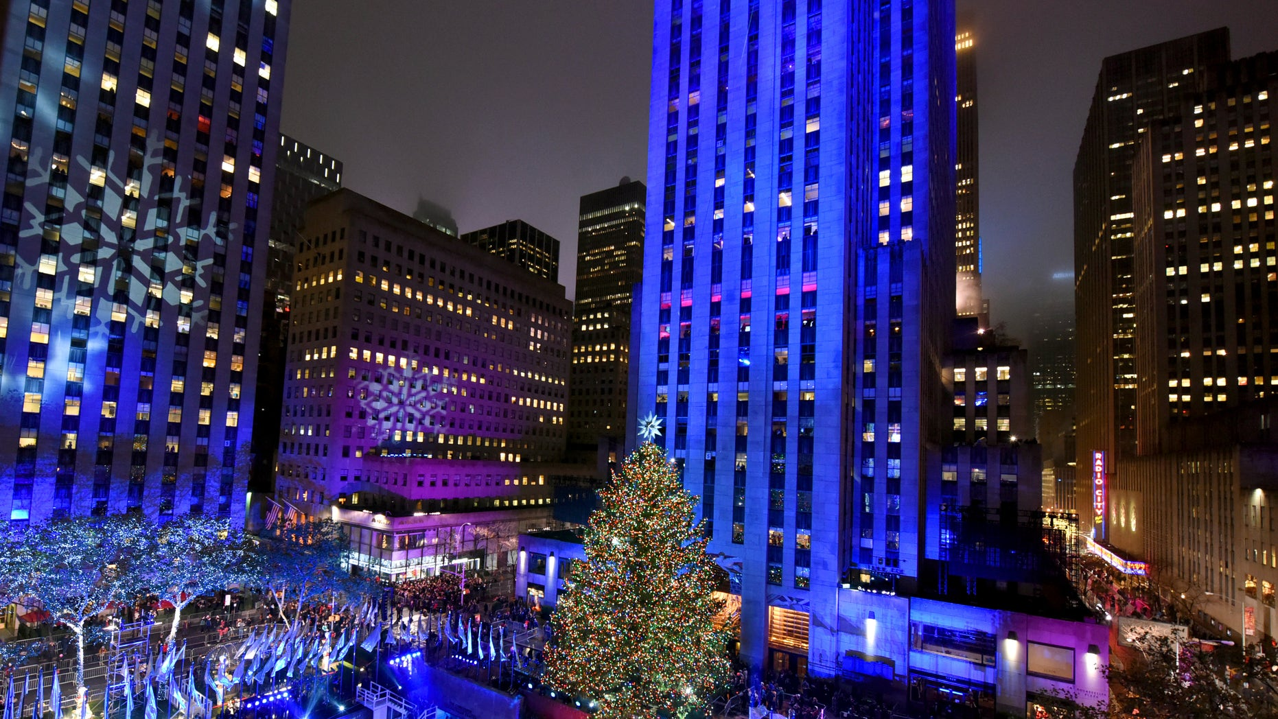 WNBC cuts away from shooting coverage to feature tree lighting ...