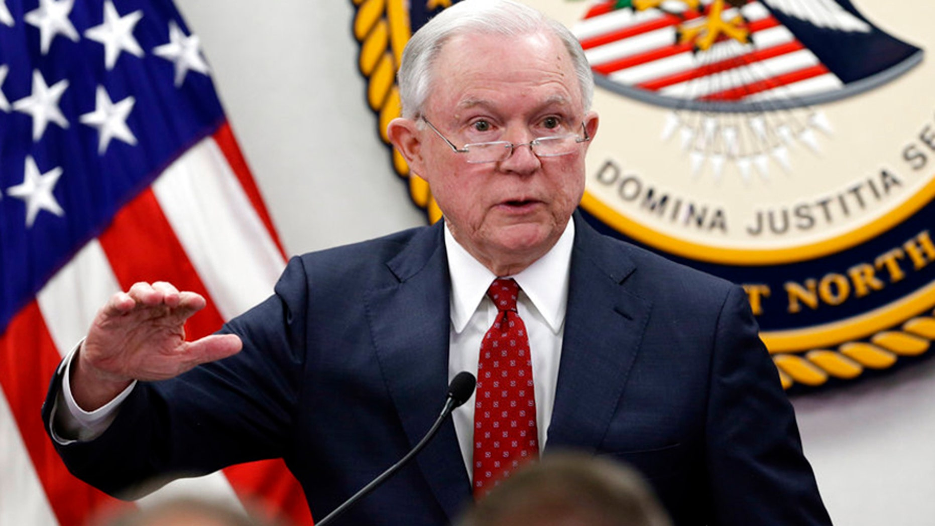 Attorney General Jeff Sessions reportedly told the White House he may quit if Trump fires Deputy AG Rod Rosenstein.