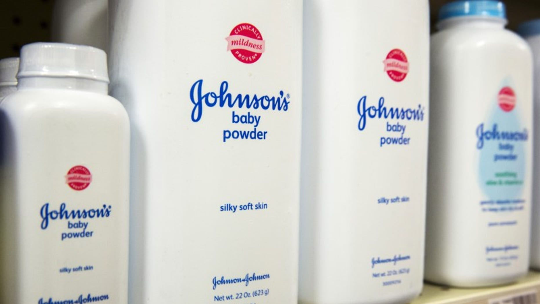 Johnson & Johnson shares drop after asbestos report