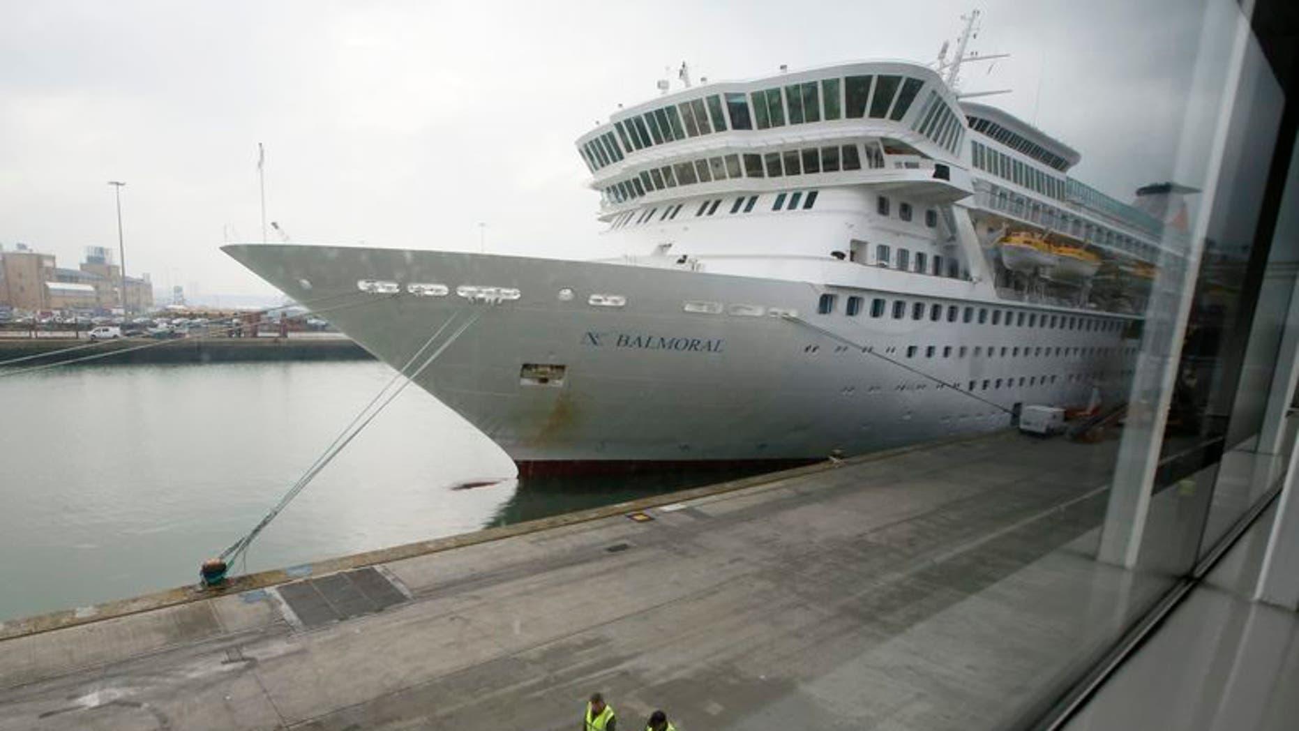 Quarter of passengers on British cruise ship fall sick ...