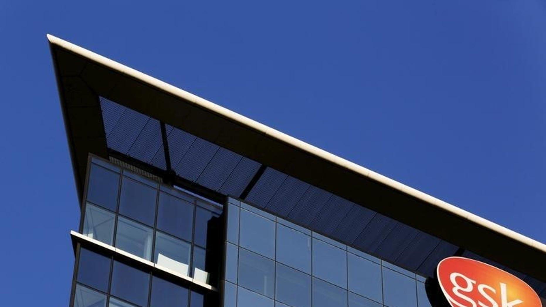 The GlaxoSmithKline building in Hounslow, west London