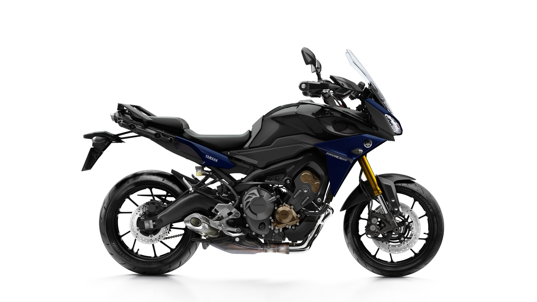 The MT-09 Tracer. (Yamaha)