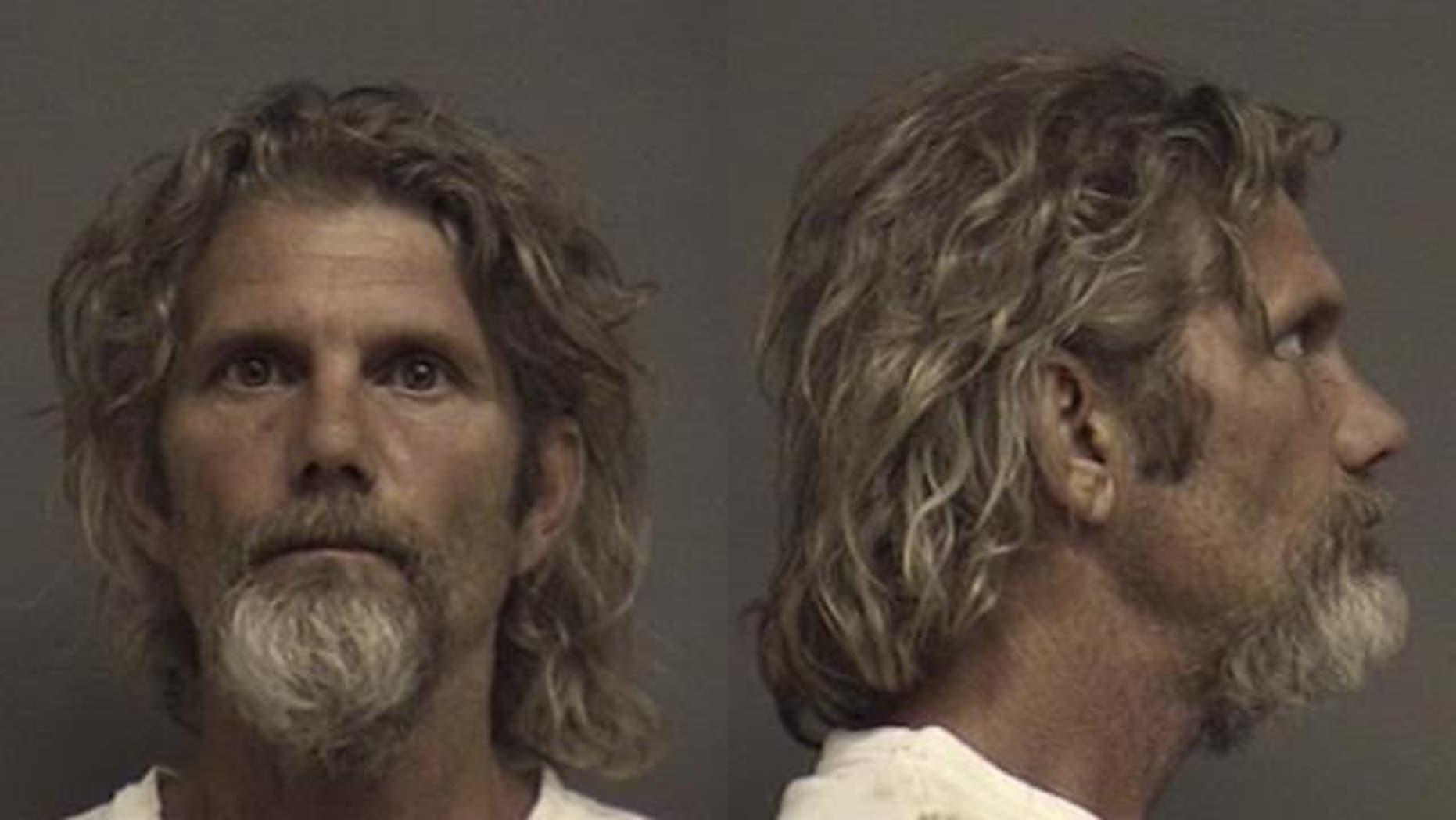 Thomas Fechtler was arrested by police in Alabama.