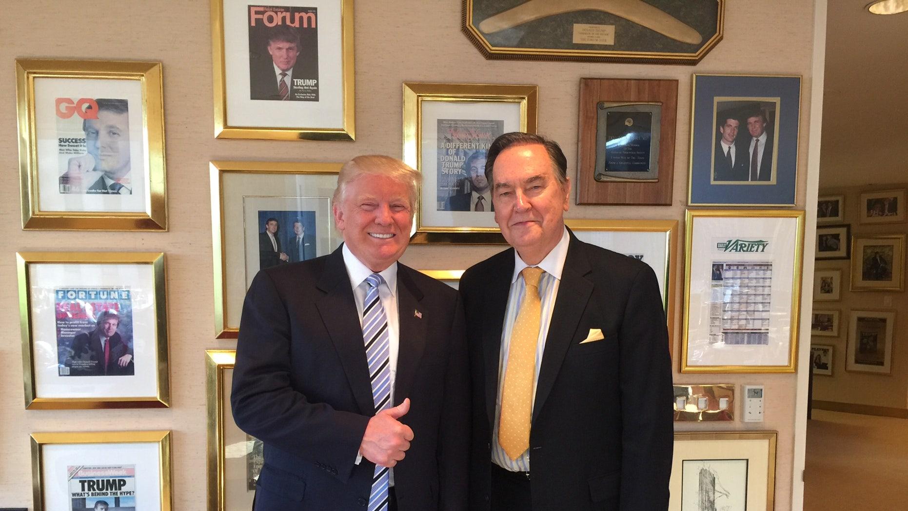 Donald Trump and Cal Thomas