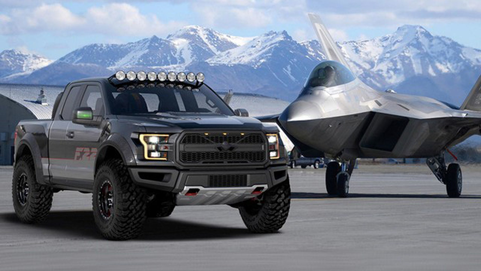This F-150 Raptor has nearly 100 more horsepower than the base model